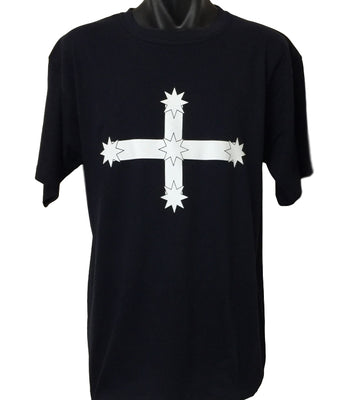 Eureka Flag T-Shirt (Dark Navy, Regular and Big Sizes)