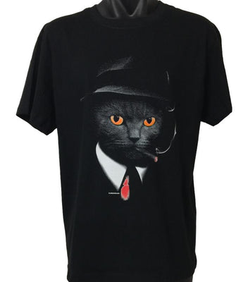 Agent Cat T-Shirt (Regular and Big Sizes)