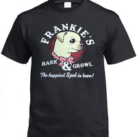 Frankie's Bark & Growl Chihuahua T-Shirt (Black)