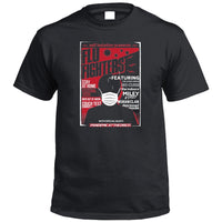Self Isolation Concert Poster Parody T-Shirt (Black)