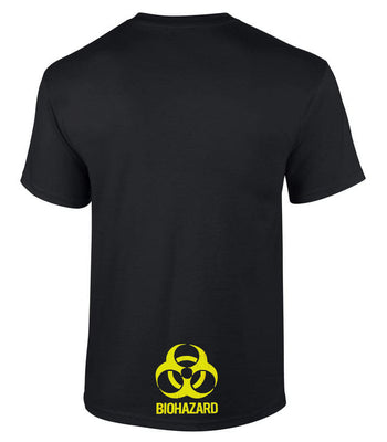 Biohazard Butt T-Shirt (Black, Regular and Big Sizes)