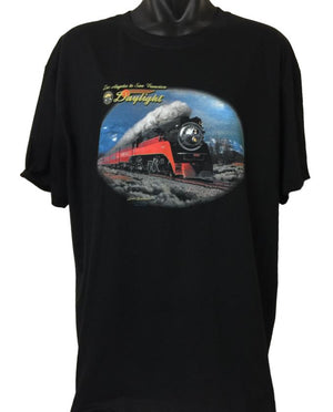 Daylight in Winter Train T-Shirt (Regular and Big Sizes)