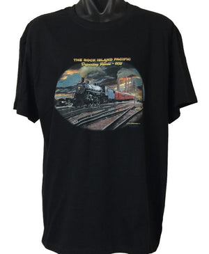 Rock Island Pacific Train T-Shirt (Regular and Big Sizes)