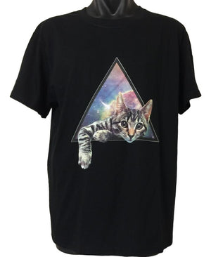 Galactic Cat T-Shirt (Regular and Big Sizes)