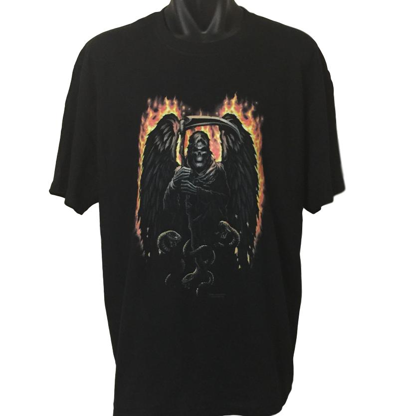 Fire Reaper T-Shirt (Regular and Big Sizes)