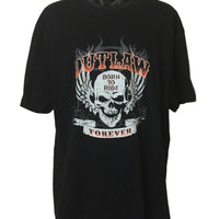 Outlaw Forever T-Shirt (Regular and Big Sizes)