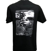 Farm Truck Double Sided T-Shirt (Back Print)