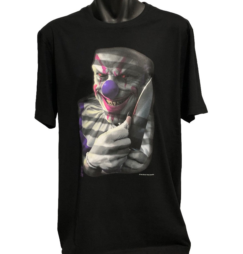 Mischief the Clown T-Shirt (Black, Regular and Big Sizes)
