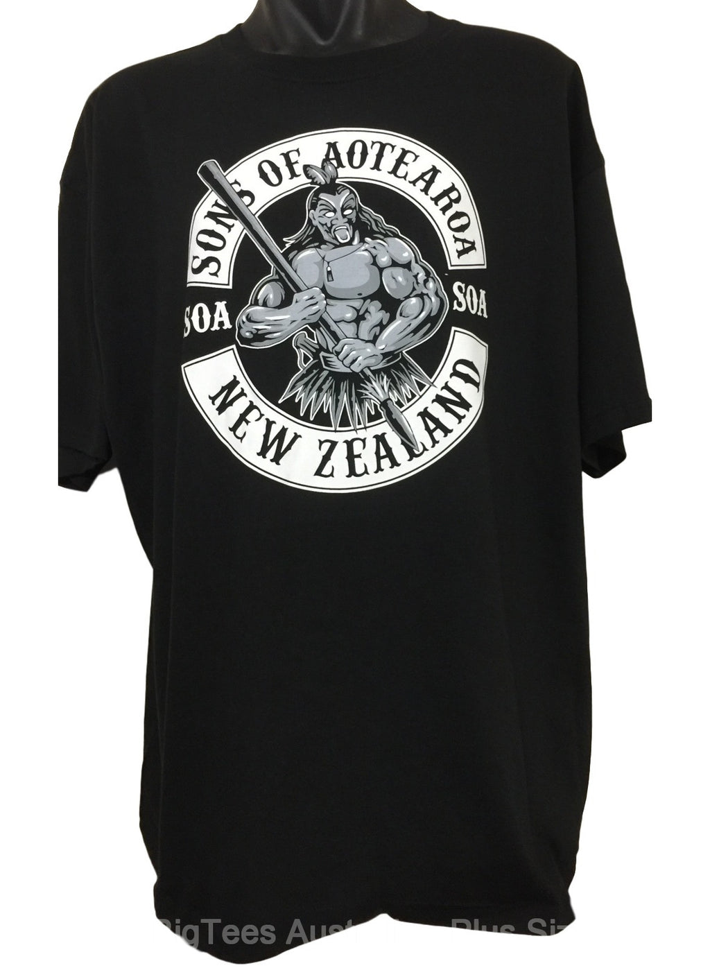 Sons of Aotearoa T-Shirt (Regular and Big Sizes)