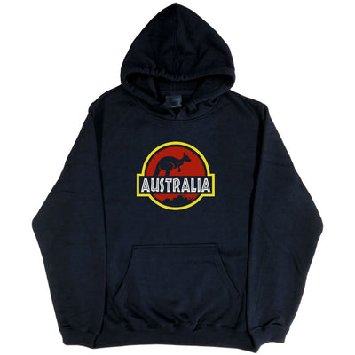 Roo Park Hoodie (Black, Regular and Big Sizes)