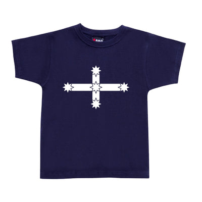 Childrens Eureka Flag T-Shirt (Dark Navy)