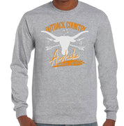 Outback Country Australia Longsleeve T-Shirt (Grey)