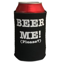 Beer Me! (Please) Stubby Holder (Black)