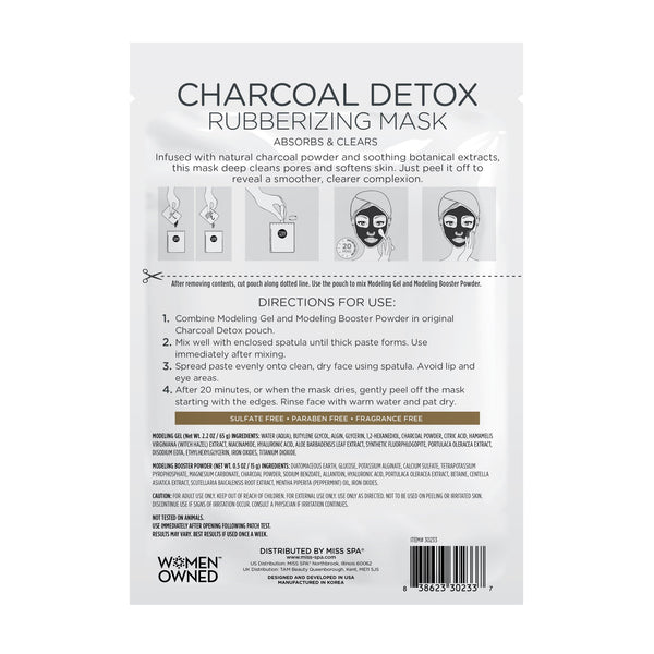 Charcoal Detox Rubberizing Mask