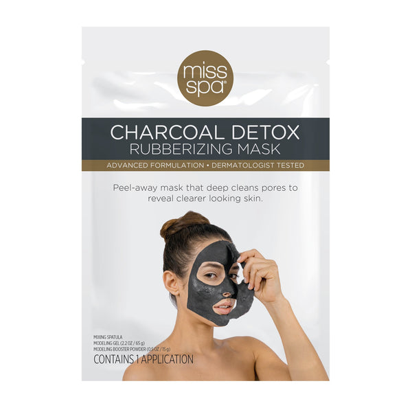 Miss Spa Charcoal Detox Rubberizing Mask