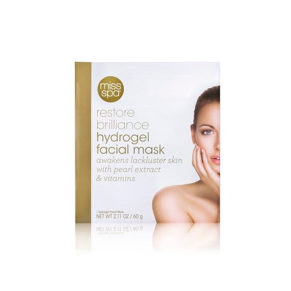 Restore Brilliance  Hydrogel Facial Mask