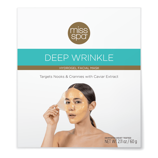 Miss Spa Deep Wrinkle Hydrogel Facial Mask