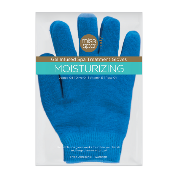 Miss Spa Moisturizing Gel Infused Spa Treatment Gloves