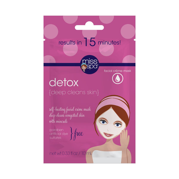 Detox Self Heating Crème Mask