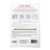 Red Wine Purifying Sheet Mask