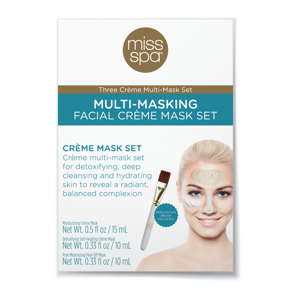 Multi-Masking Facial Crème Mask Set