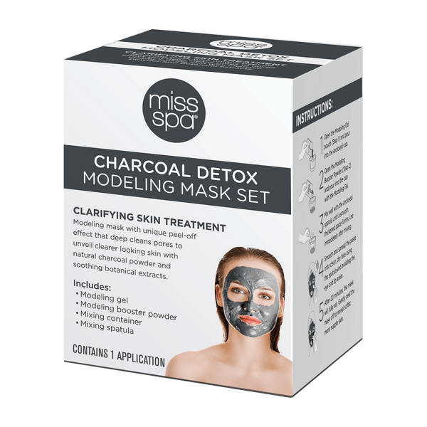 Charcoal Detox Modeling Mask Set Box