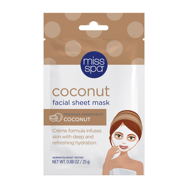 Miss Spa Coconut Facial Sheet Mask