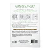 Avocado Honey Hydrating Sheet Mask