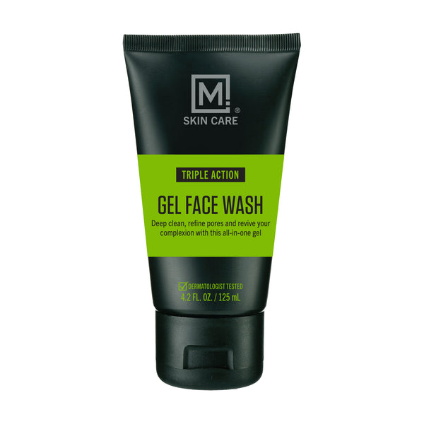 M. Skin Care Triple Action Gel Face Wash for Men