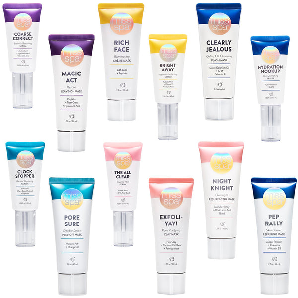 Miss spa skin care collection