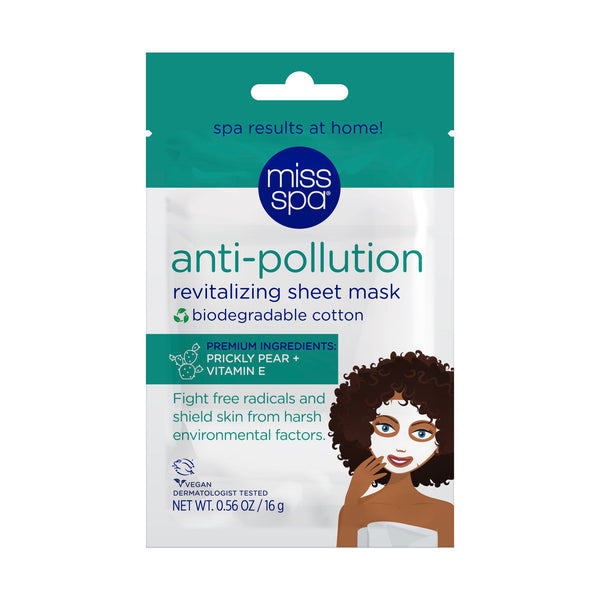 Anti-Pollution Revitalizing Sheet Mask