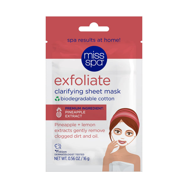 Exfoliate Cotton Sheet Mask