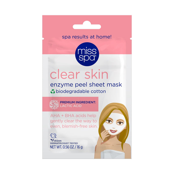 Clear Skin Enzyme Peel Sheet Mask