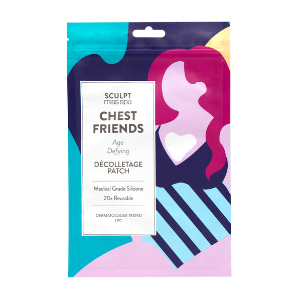 CHEST FRIENDS Age Defying Décolletage Patch