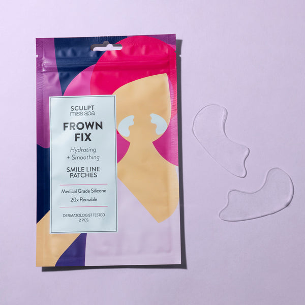 FROWN FIX Hydrating + Smoothing Smile Line Patches
