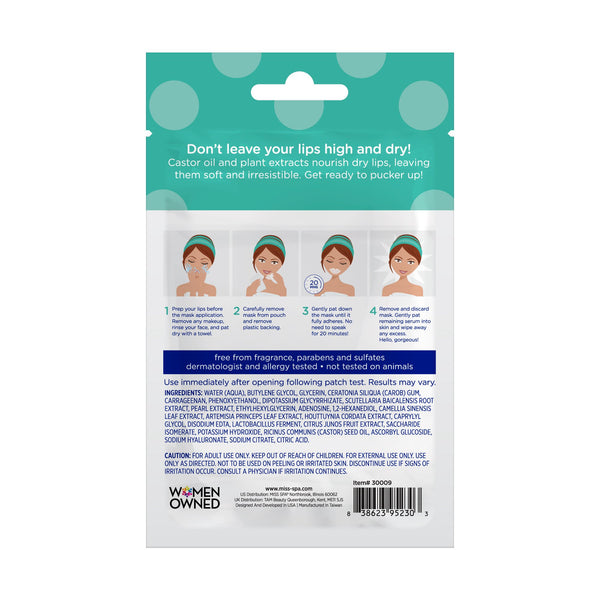 Miss Spa Deep Therapy Gel Lip Mask back image