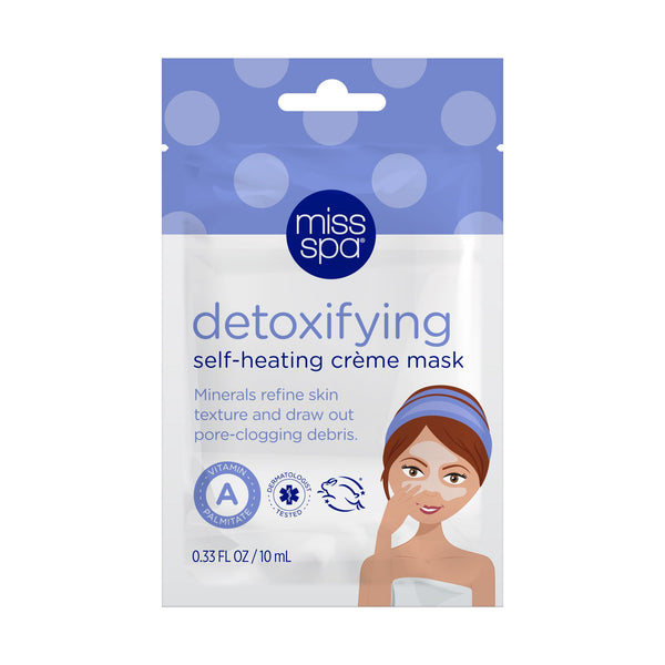 Miss Spa Detoxifying Self-Heating Crème Mask