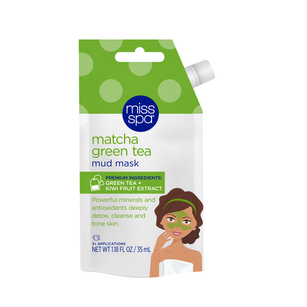 Miss Spa Matcha Green Tea Mud Mask