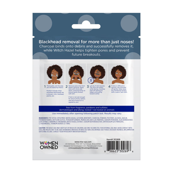 Miss Spa Extract Pore Strips back image