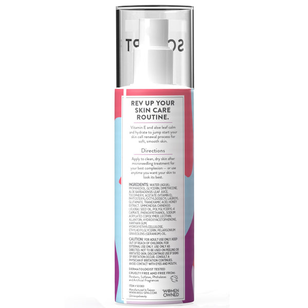 miss spa sculpt smooth and revive serum instructions