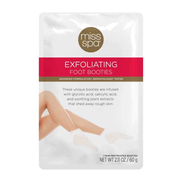 Miss Spa Exfoliating Foot Booties