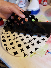A Complete Guide to Using Stencils for Custom Shoes – Just1