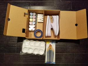 Adult DIY Custom Shoe Kit