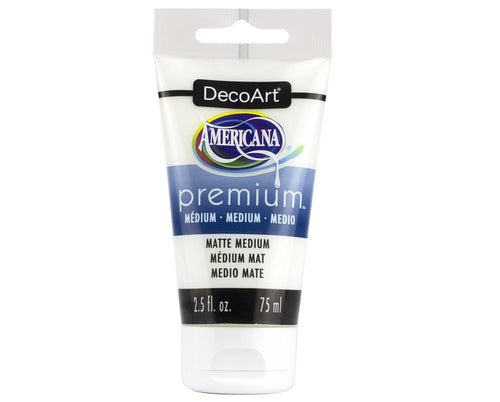 DecoArt 2.54oz Matte Medium (Finisher)