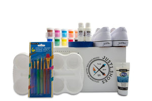 Kids DIY Custom Shoe Kit