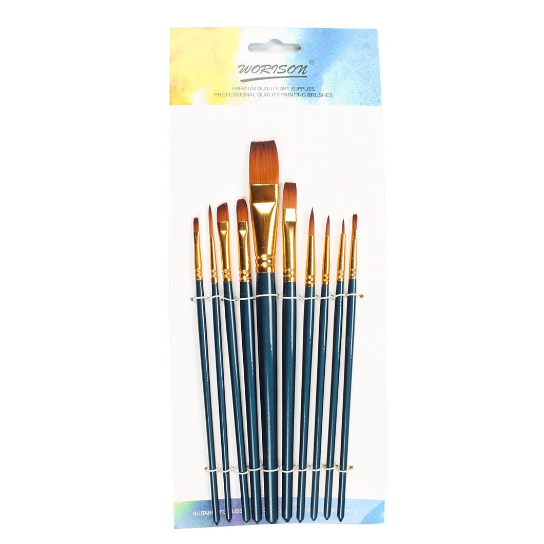 10pcs Professional Brush Set