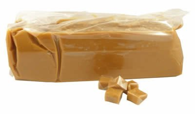 Callebaut Caramel Loaf, Five Pounds PROFESSIONAL/BULK 5 Lbs / (Pack of 4) (4 Bulks)