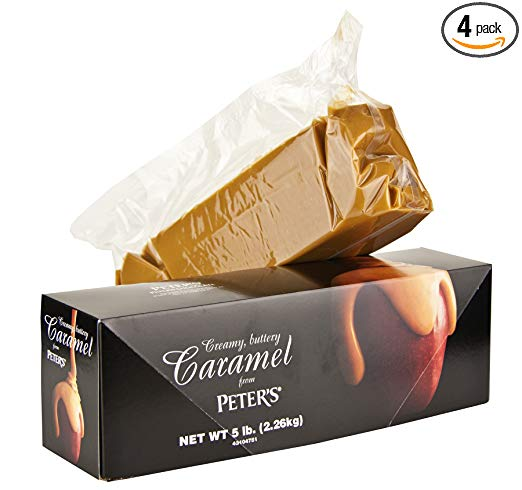 Peters Creamy Caramel Sauce, 5 Pound (Pack of 4)