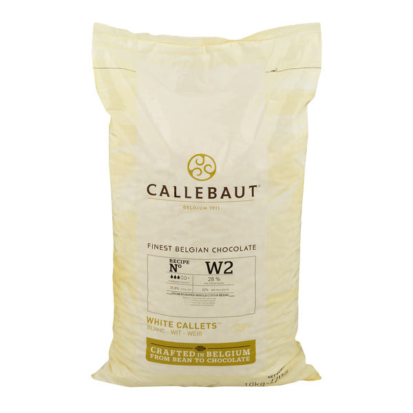 Callebaut W2-NV White Chocolate Callets