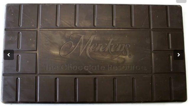 Merckens Bordeaux Baking Bittersweet Chocolate Coat Dark Chocolate, 50Lb